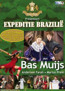 Poster Expeditie Brazilië