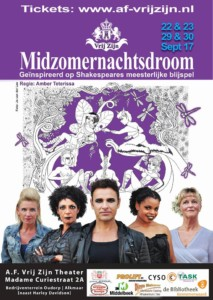 Poster Midzomernachtsdroom